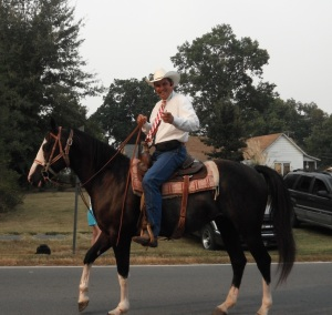 Lonoke County Judge Doug Erwin (Yes, this is his personal horse)